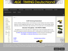 Screenshot der Domain alge-timing.de