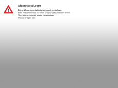 Screenshot der Domain algenkapsel.com