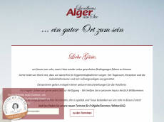Screenshot von alger-fasten.de
