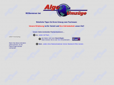 Screenshot der Domain algo.de