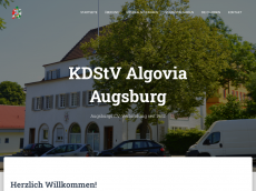 Screenshot der Domain algovia-augsburg.de