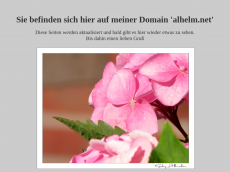 Screenshot der Domain alhelm.net
