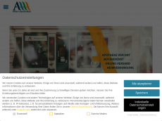 Screenshot von alhorn-apotheken.de