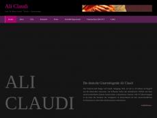 Screenshot von ali-claudi.de