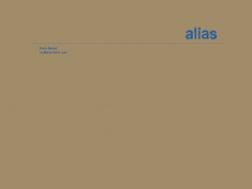 Screenshot der Domain alias-berlin.de