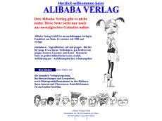 Screenshot der Domain alibaba-verlag.de