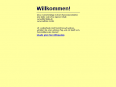 Screenshot der Domain alibenbaba.de