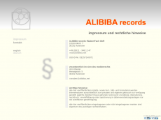 Screenshot von alibiba.net