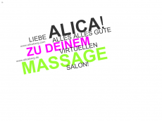 Screenshot der Domain alicaberg.de