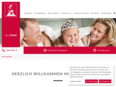 Screenshot der Domain alice-hospital.de