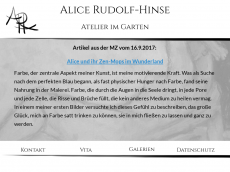 Screenshot der Domain alice-rudolf.de