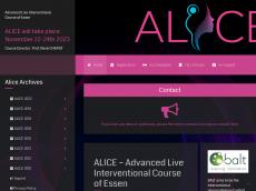 Screenshot der Domain alice-the-course.com