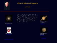 Screenshot der Domain alice-von-kageneck.de