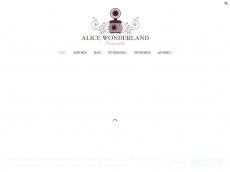 Screenshot der Domain alice-wonderland.de