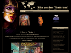 Screenshot der Domain aliceausdemwunderland.de