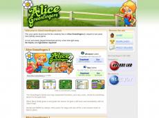 Screenshot der Domain alicegreenfingers.com