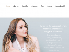 Screenshot der Domain alicja-im-photoland.de