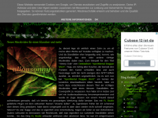 Screenshot der Domain alionsonny-de.blogspot.com