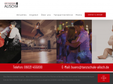 Screenshot der Domain alisch-im-casino.de