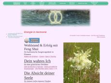 Screenshot der Domain alisha-light.com