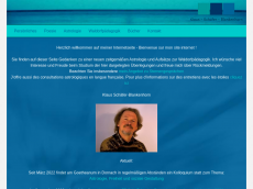 Screenshot der Domain alisio.de