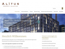 Screenshot der Domain alitus.eu