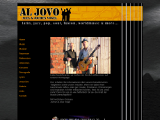 Screenshot der Domain aljovo.com