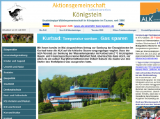 Screenshot der Domain alk-koenigstein.de