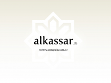 Screenshot der Domain alkassar.de