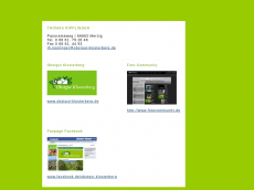 Screenshot der Domain alkione.de