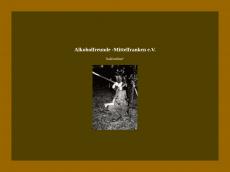 Screenshot der Domain alkoholfreunde-mittelfranken.de