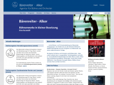 Screenshot der Domain alkor-edition.com