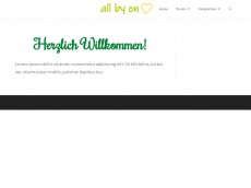 Screenshot der Domain all-by-one.de