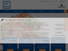 Screenshot der Domain all-fish.de