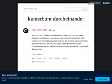 Screenshot der Domain all-in-a-tumble.de