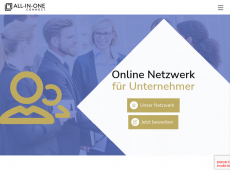 Screenshot der Domain all-in-one-consulting.com