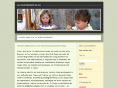 Screenshot der Domain alleinerzieher-blog.de