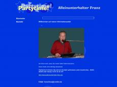Screenshot der Domain alleinunterhalter-floss.de