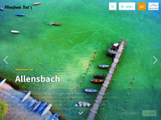 Screenshot der Domain allensbach.de