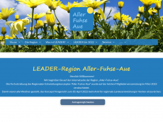 Screenshot der Domain aller-fuhse-aue.de