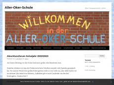 Screenshot von aller-oker-schule.de