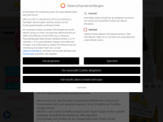 Screenshot der Domain aller-weser-klinik.de