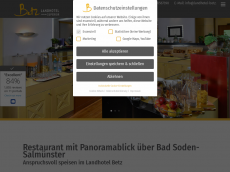 Screenshot der Domain allergicare.de