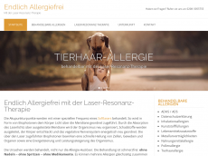 Screenshot der Domain allergie-behandlung.net