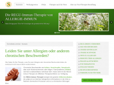 Screenshot der Domain allergie-heilung.de