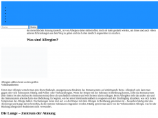Screenshot der Domain allergie-lunge.de