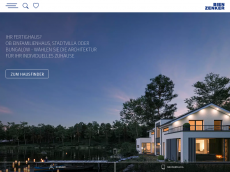 Screenshot der Domain allergiefreies-haus.de