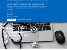 Screenshot der Domain allergiekurs.de