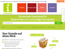Screenshot der Domain allergieonline.de