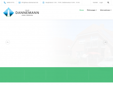 Screenshot der Domain allergikerwohnung-borkum.de